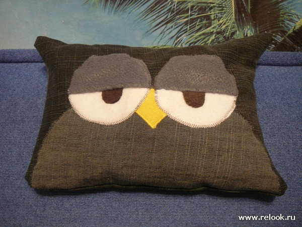 Подушка с совой