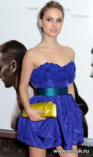 Натали портман и ее образы модная жизнь мода на relook