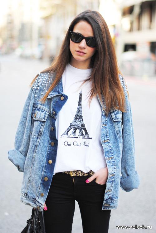 Модные женские джинсовки