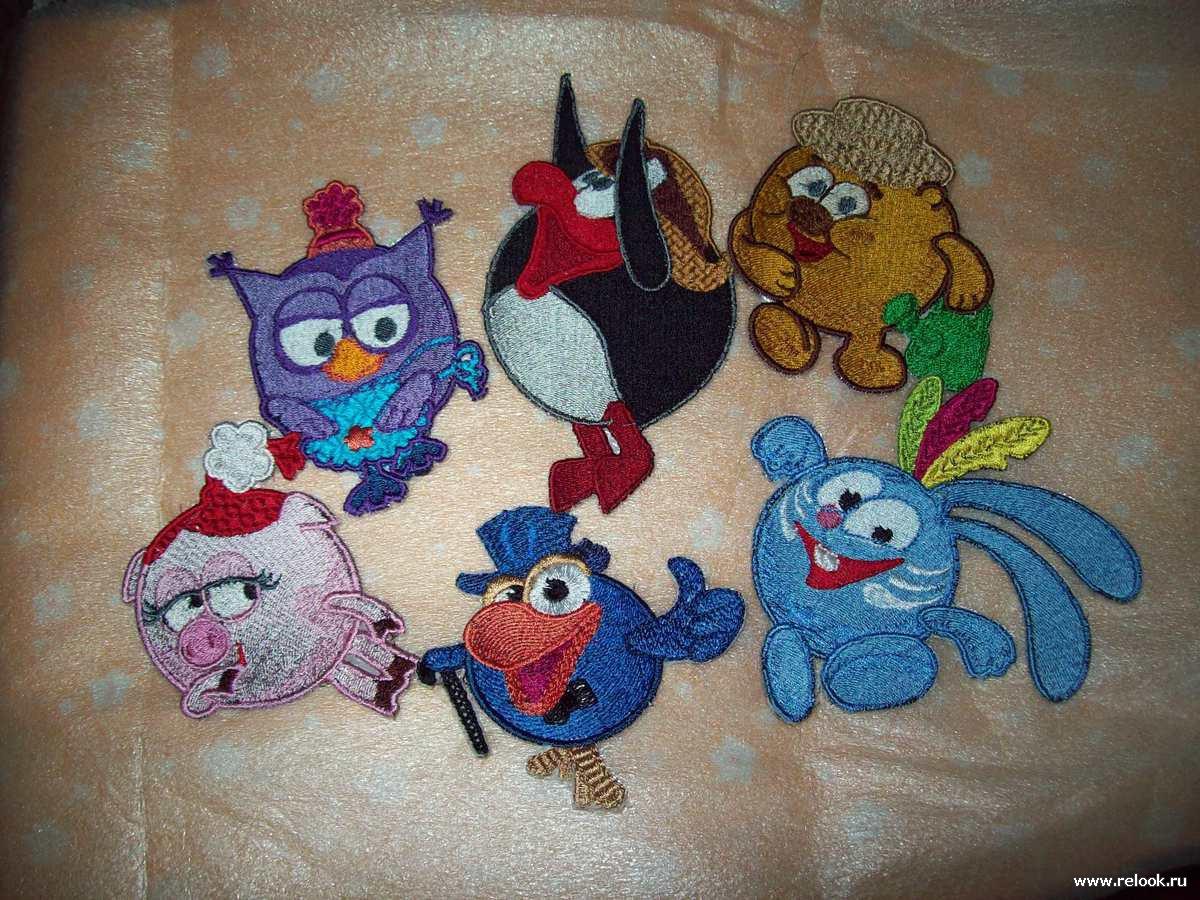 Фото с детскими вышивками