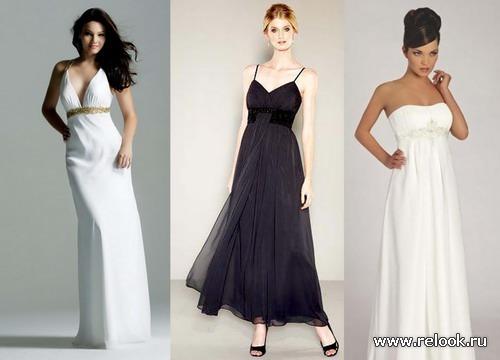 Фото платья в стиле ампир