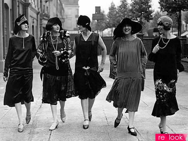 Мода америка 20 х годов платья и прически
