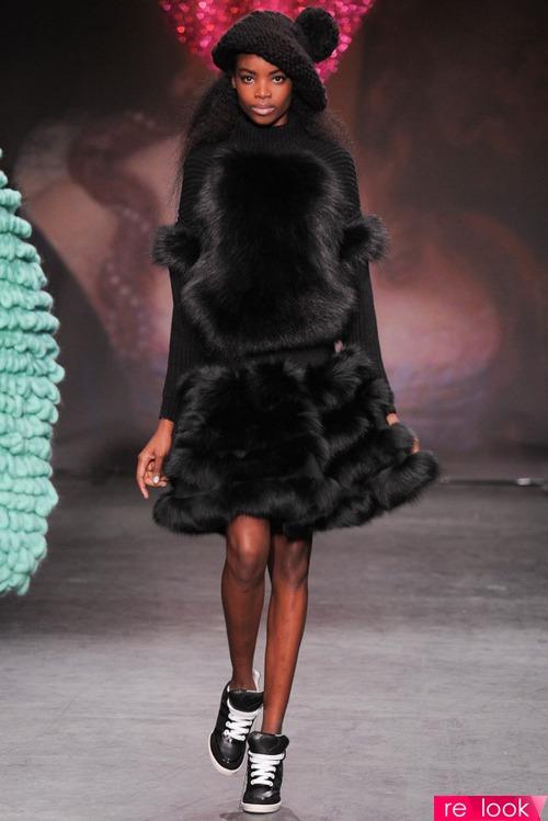 Фото меховые платья 187