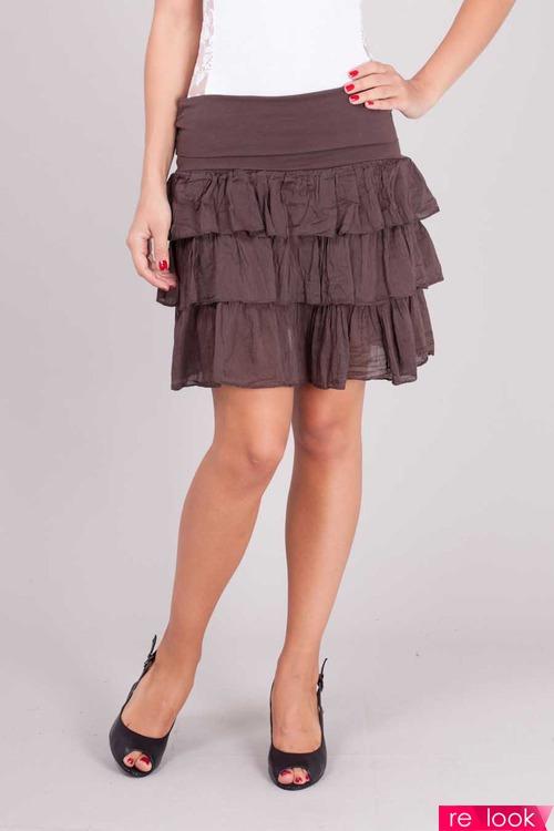 многоярусные юбки