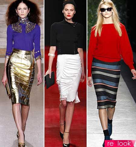 Юбки 2014: Территория моды - мода на Relook.