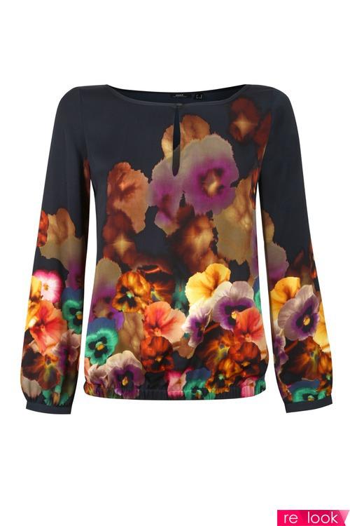 Блузки 2013 С Цветочным Принтом