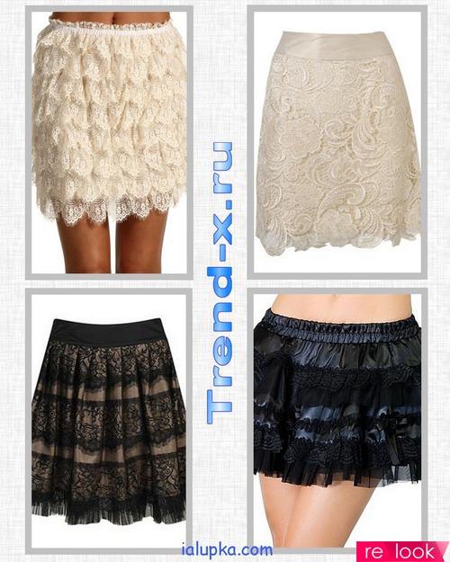Выкройки женских модных юбок