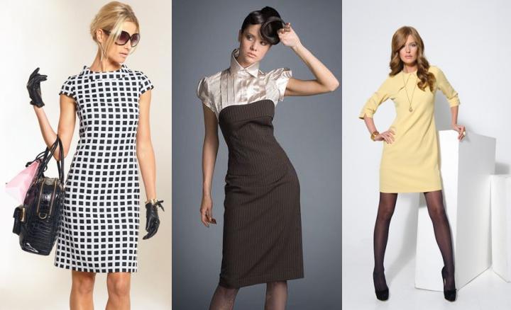 Фото модели платьев для офиса