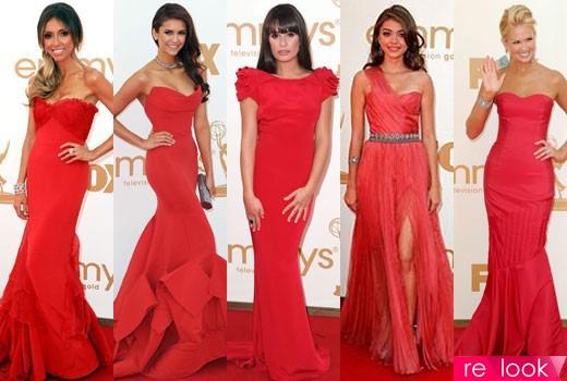 Прическа под красное платье