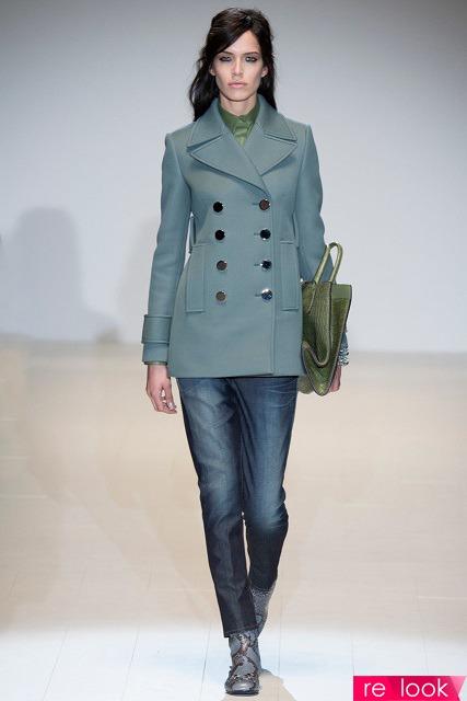Модные пальто с воротниками