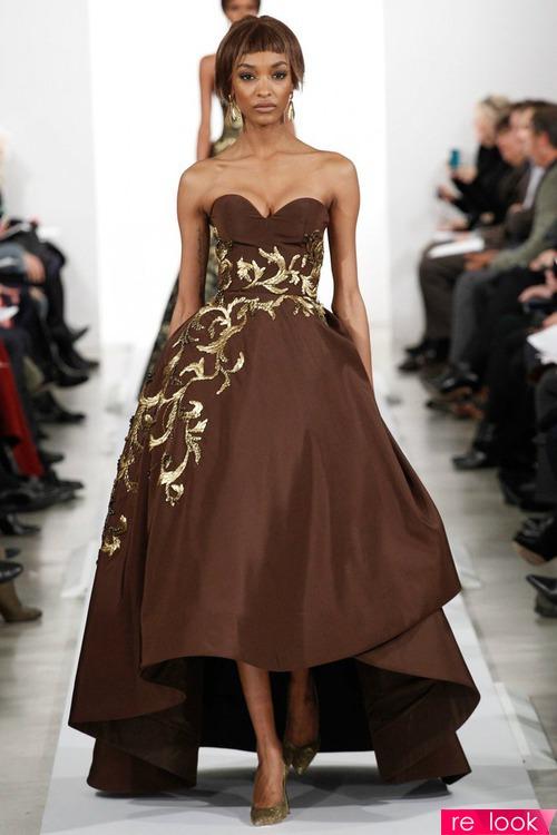 Декор платья вечернего