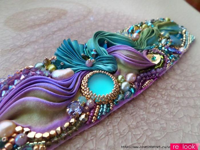 Как сделать украшения в стиле шибори своими руками