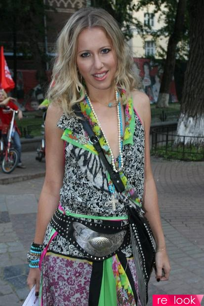 блондинка в шоколаде с ксенией собчак: