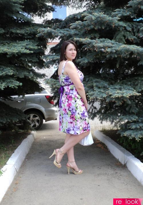 выкройка платья из степ шелка с декольте
