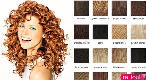 Подбираем цвет волос по фотографии