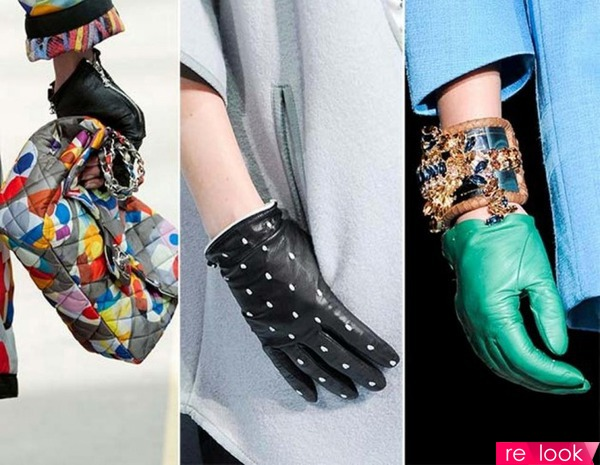 Тенденция модных перчаток