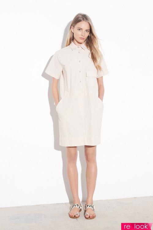 Рубашечный стиль платья фото