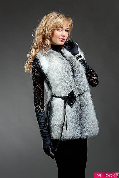 Меховые Жилеты Мода 2017