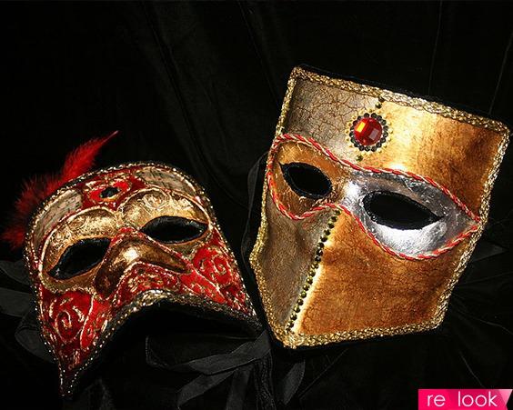 Венецианская маска мужская своими руками