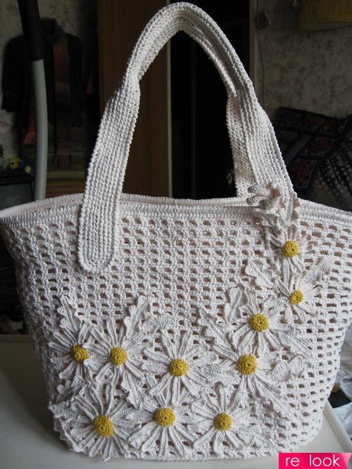 Пляжная сумка | Вязаные сумки,