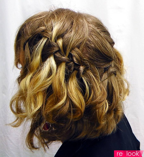 Косички на короткий волос
