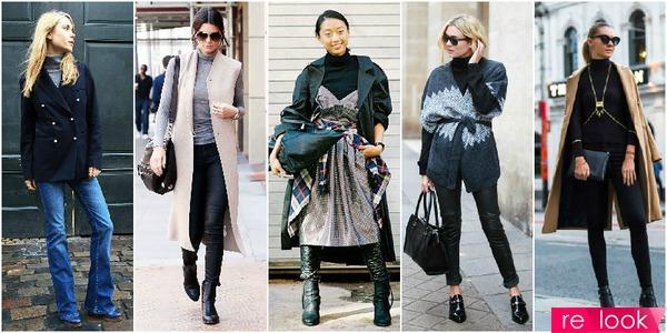 Как носить зимой платье без рукавов