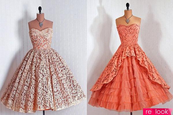 Винтажные платья на выпускной
