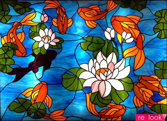 Витражные светильники своими руками фото 794