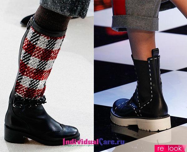 Обувь Мода Осень Зима