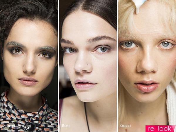 Модные тенденции в макияже осень 2017