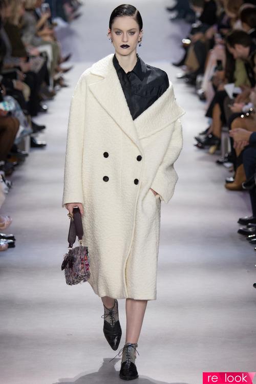Какие пальто модно зимой 2017