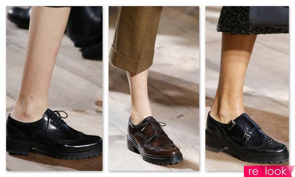 Модные ботинки осень 2017