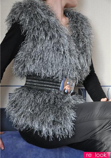Вязаный мех: стильно и модно!: Мода и стиль - мода на ...