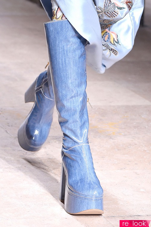 Название модной обуви 2017