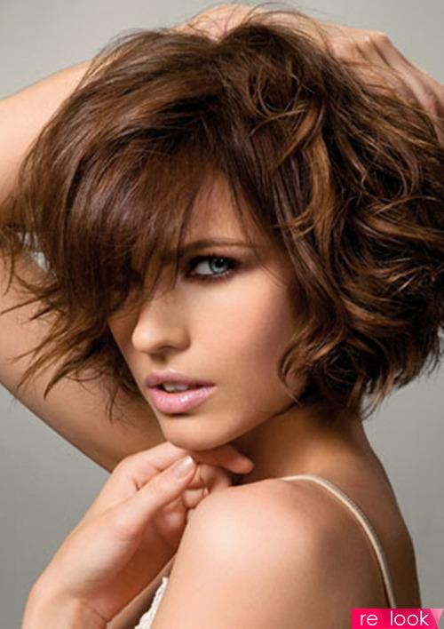 Модные стрижки для густых и волнистых волос
