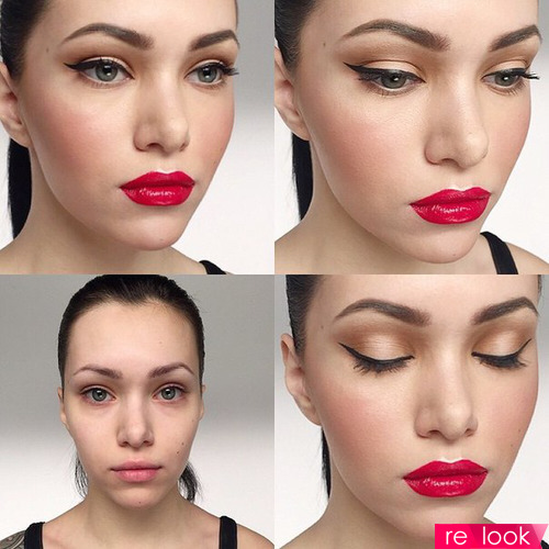 Техника голливудского макияжа