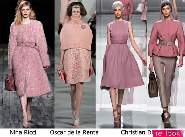 С чем носить грязно-розовый