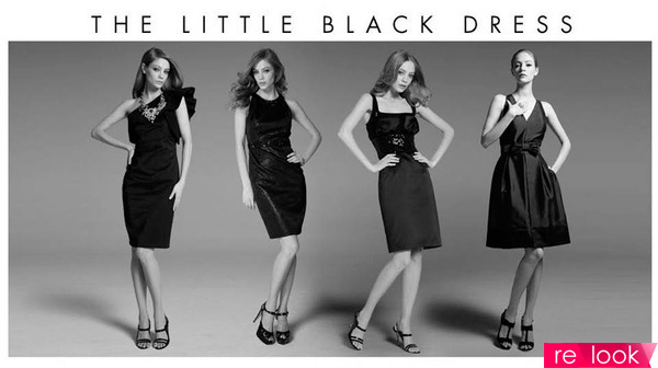 Маленькое черное платье от коко шанель