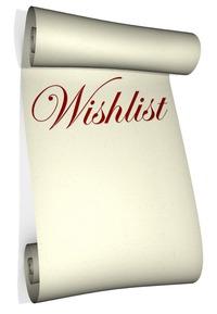 Wish list, виш лист