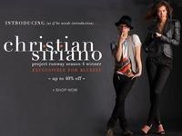 Christian Siriano, Кристиан Сириано