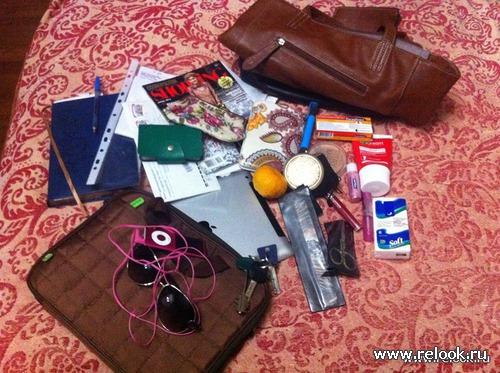 5320c8916ada Содержимое сумочки Saburochka