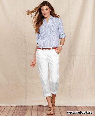 3f8a13c0238 И для конского и для морского сета вполне подойдут обыкновенные джинсы или  цветные брюки из плотной ткани, например в рубчик.