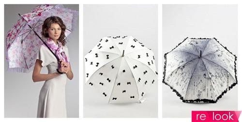 Какие зонты в моде фото