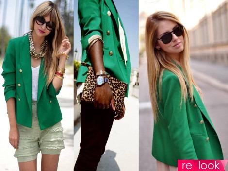 одежда зелёного цвета