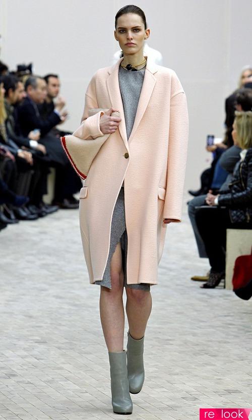 пальто женское мужского кроя фото