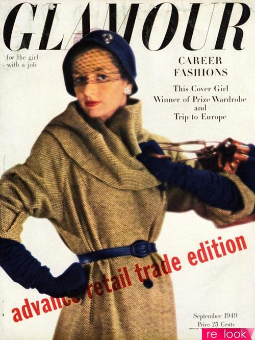 Начало Второй мировой войны внесло свои коррективы в развитие Glamour,  когда мужская часть населения отправилась воевать на фронт, а женская –  работать. 756a1a112a8