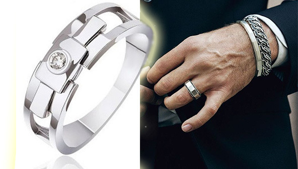 Мужские кольца с бриллиантами  на что обратить внимание при выборе ... f8b1e9b78bb