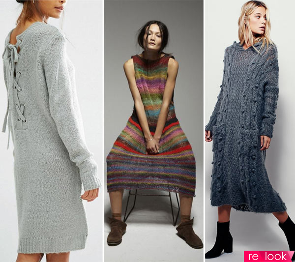 e9b7490e979 Вязаные платье осень-зима 2017-18  Территория моды - мода на Relook.ru