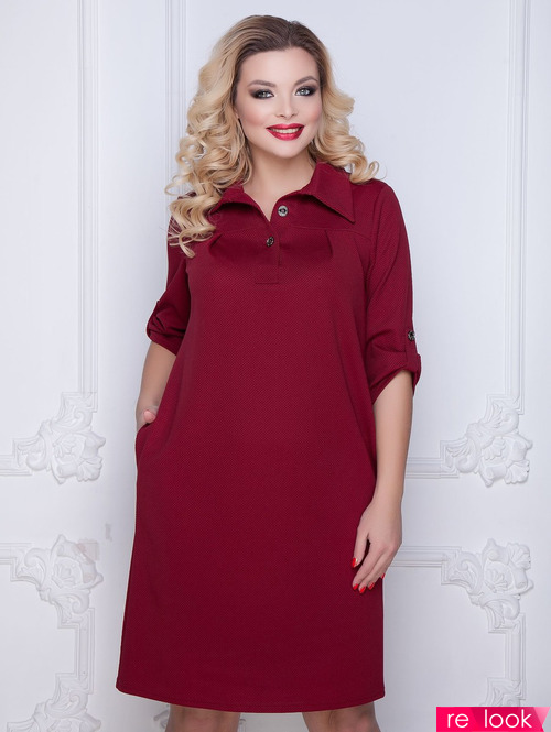 Модные Платья Для Полных