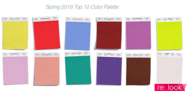 модные цвета весны-лета 2018